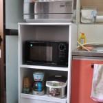 食洗機を置く収納棚